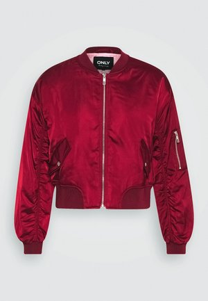 ONLPATTY JACKET - Bomberjacks - pomegranate