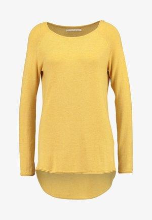 ONLMILA LACY LONG - Pullover - yolk yellow