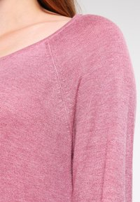 ONLY - ONLMILA LACY LONG - Jumper - mesa rose - 3