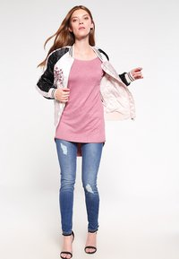 ONLY - ONLMILA LACY LONG - Jumper - mesa rose - 1