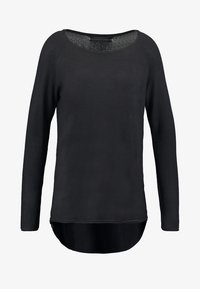 ONLY - ONLMILA LACY LONG - Jumper - black - 5