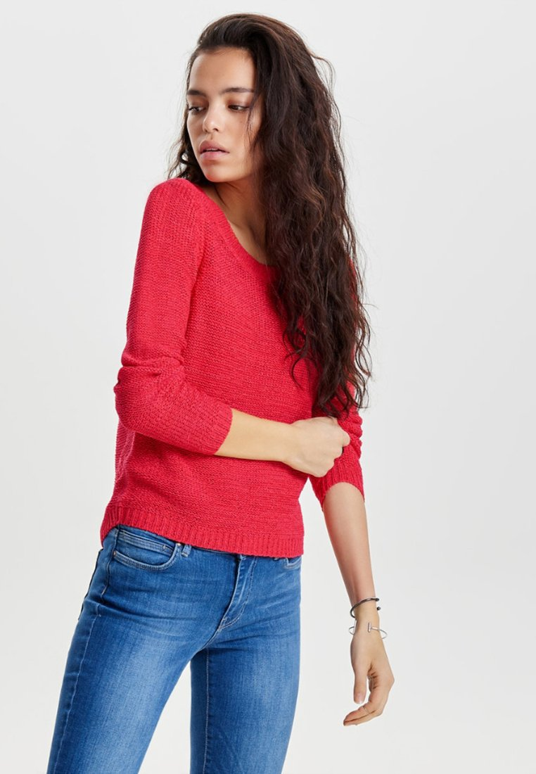 ONLY - ONLGEENA - Neule - red