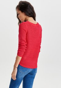 ONLY - ONLGEENA - Neule - red - 2