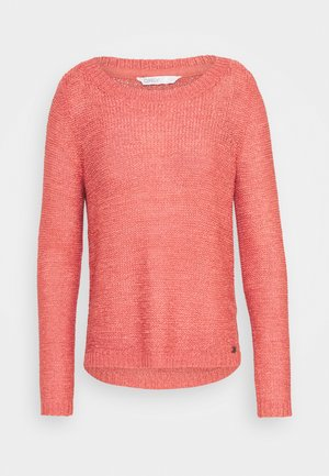ONLGEENA - Strickpullover - mineral red