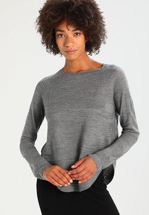 ONLCAVIAR  - Jersey de punto - medium grey melange