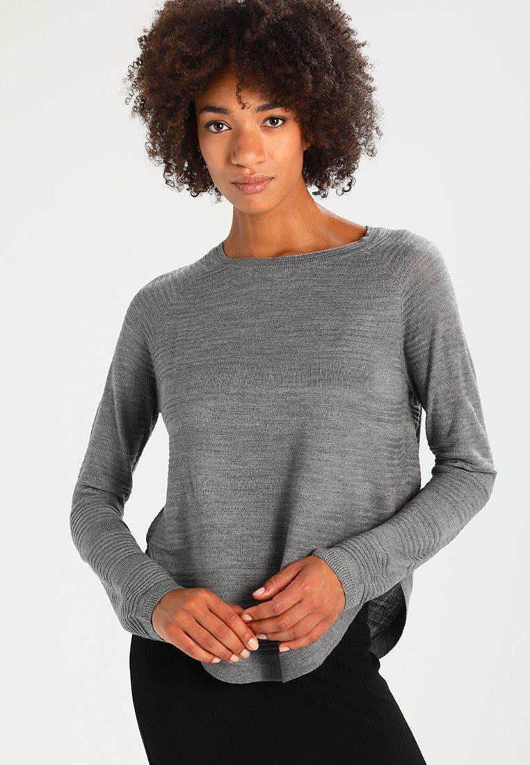 ONLY - ONLCAVIAR  - Strickpullover - medium grey melange