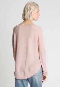 ONLY - ONLCAVIAR  - Strikkegenser - rose - 3