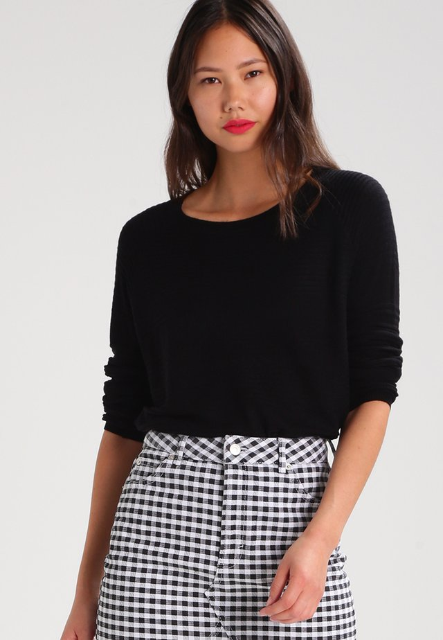 ONLCAVIAR  - Pullover - black