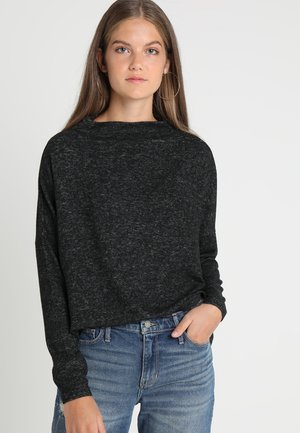 ONLKLEO  - Sweter - dark grey melange
