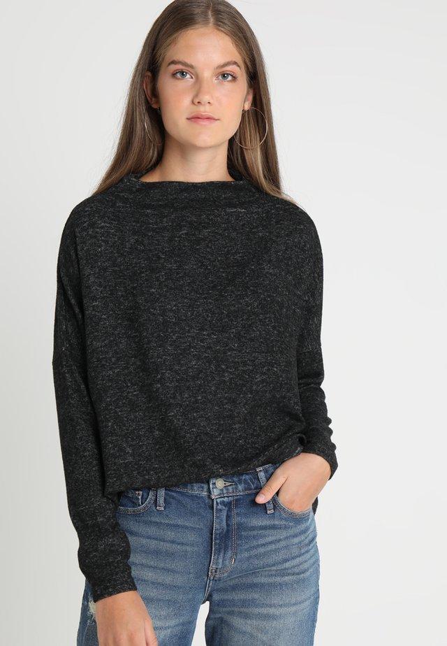 ONLKLEO  - Stickad tröja - dark grey melange