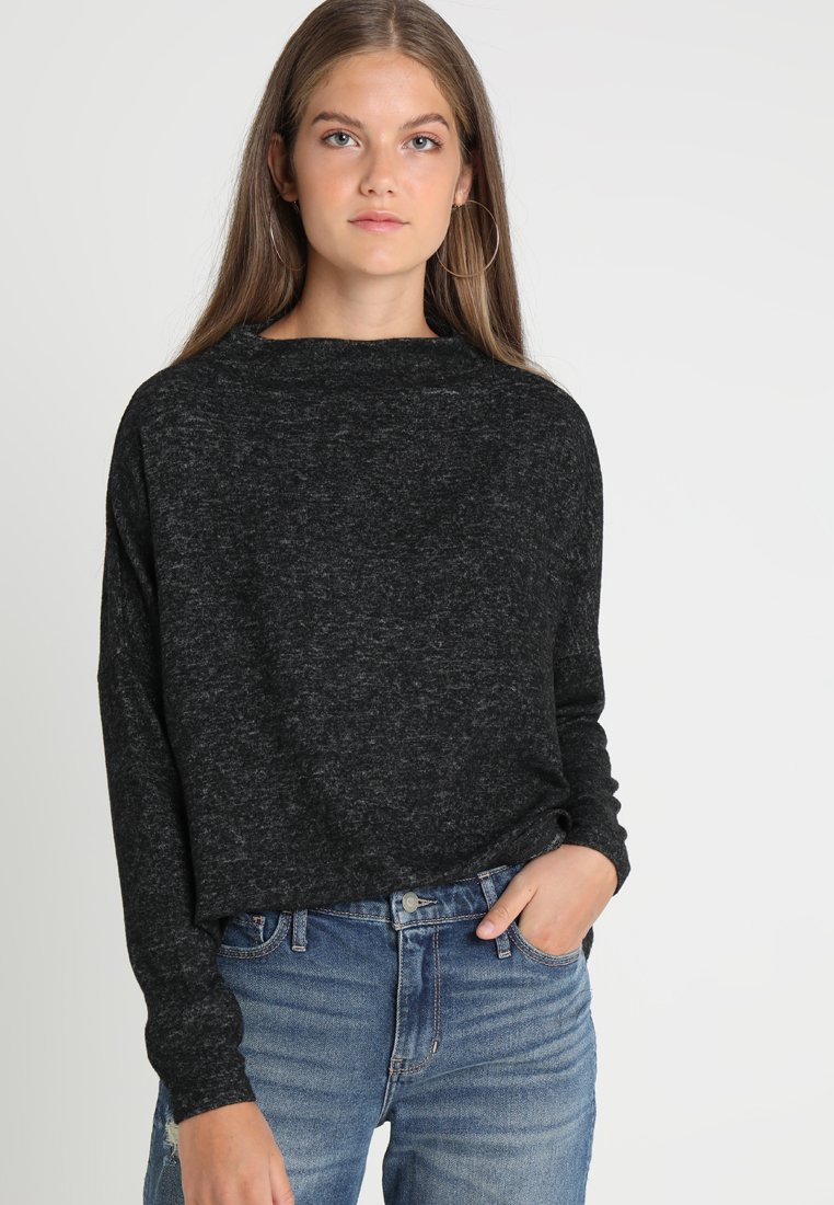 ONLY - ONLKLEO  - Jumper - dark grey melange