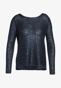 ONLY - ONLADELE  - Jumper - sky captain/matching sequins - 5