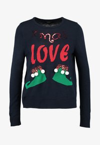ONLY - ONLXMAS CHRISTMAS - Jumper - dunkelblau - 4