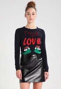 ONLY - ONLXMAS CHRISTMAS - Jumper - dunkelblau - 0