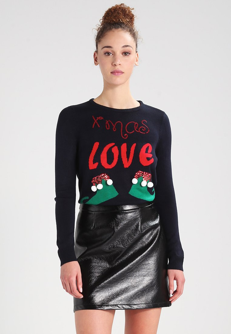 ONLY - ONLXMAS CHRISTMAS - Jumper - dunkelblau