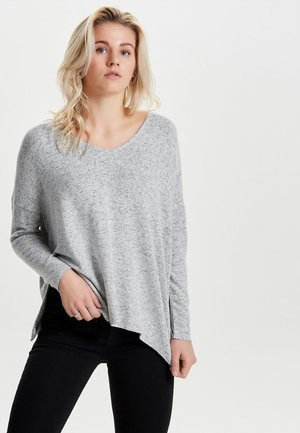 ONLKLEO NOOS - Jumper - light grey melange