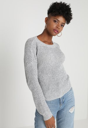 ONLNANCY  - Jersey de punto - light grey melange