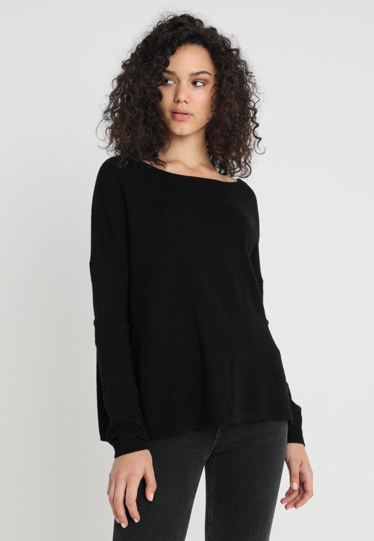 ONLY - ONLBRENDA - Strickpullover - black