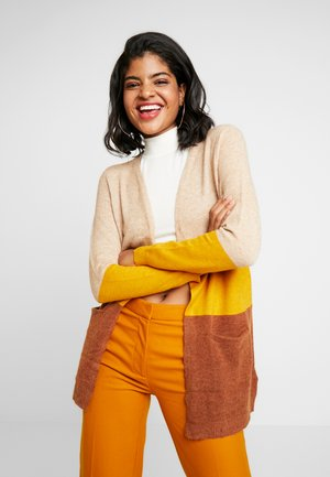 ONLQUEEN - Cardigan - indian tan/golden yellow/gingerb
