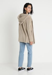 ONLY - ONLNEW CONTACT HOODED - Winterjacke - pure cashmere - 2