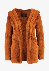 ONLY - ONLNEW CONTACT HOODED - Giacca invernale - caramel café - 4