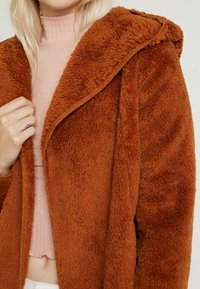 ONLY - ONLNEW CONTACT HOODED - Giacca invernale - caramel café - 5