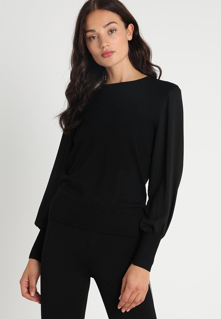 ONLY - ONLTAMARA MIX  - Jersey de punto - black