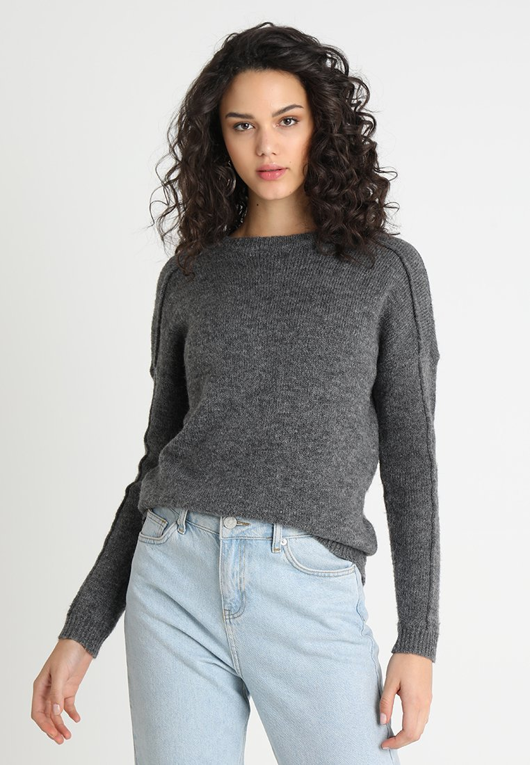 ONLY - ONLELSA  - Jumper - medium grey melange