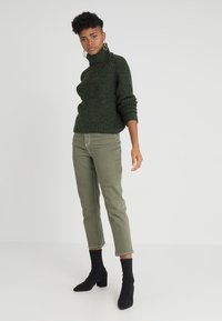 ONLY - ONLVEGA ROLLNECK  - Trui - hunter green - 1