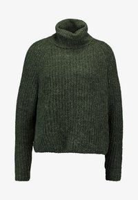 ONLY - ONLVEGA ROLLNECK  - Trui - hunter green - 3