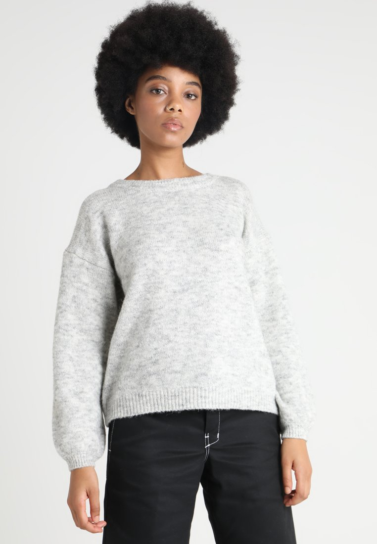 ONLY - ONLJENNIFER - Strickpullover - light grey melange