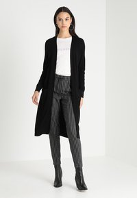 ONLY - ONLELINA CARDIGAN - Cardigan - black - 1