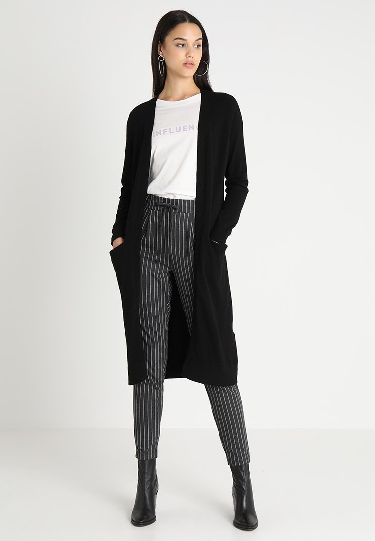 ONLY - ONLELINA CARDIGAN - Cardigan - black