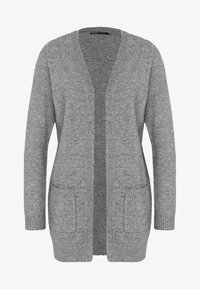 ONLY - Strikjakke /Cardigans - medium grey melange - 4