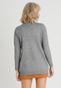 ONLY - Strikjakke /Cardigans - medium grey melange