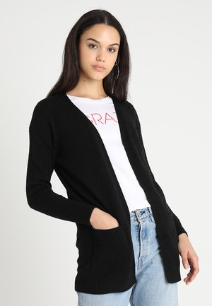 ONLLESLY OPEN CARDIGAN - Gilet - black
