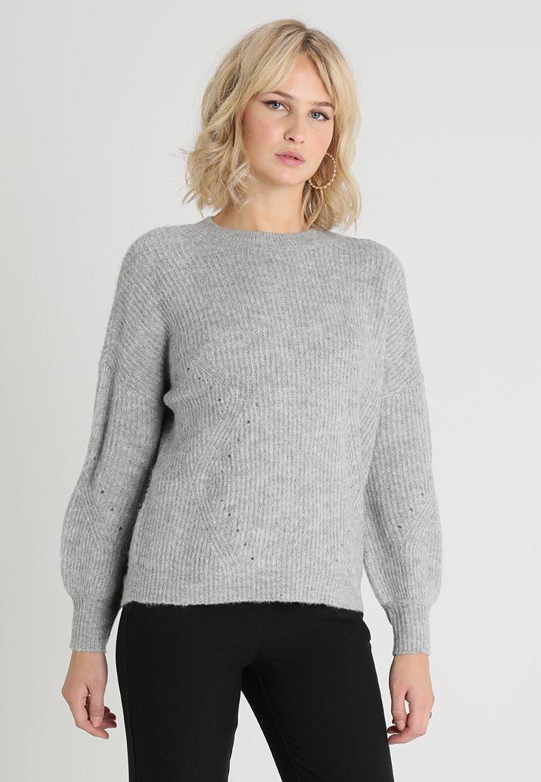 ONLY - ONLWEBBIE - Strickpullover - medium grey