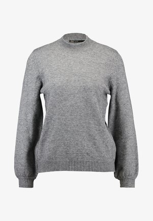 ONLLESLY BELLSLEEVE - Jersey de punto - medium grey