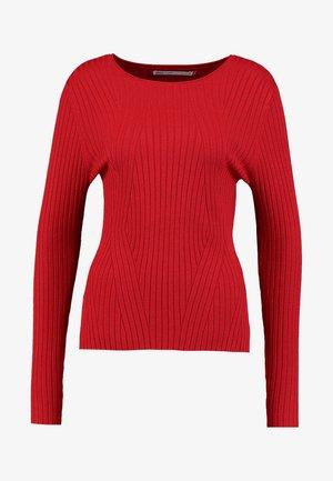 ONLNATALIA - Stickad tröja - jester red