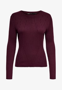 ONLY - ONLNATALIA - Trui - bordeaux - 5