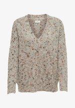 Pullover - light grey melange