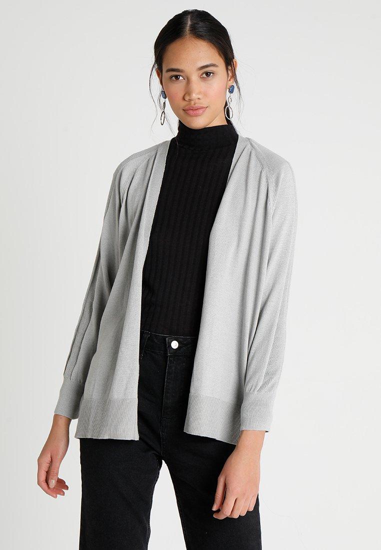 ONLY - ONLYLVA CARDIGAN - Strikjakke /Cardigans - light grey melange