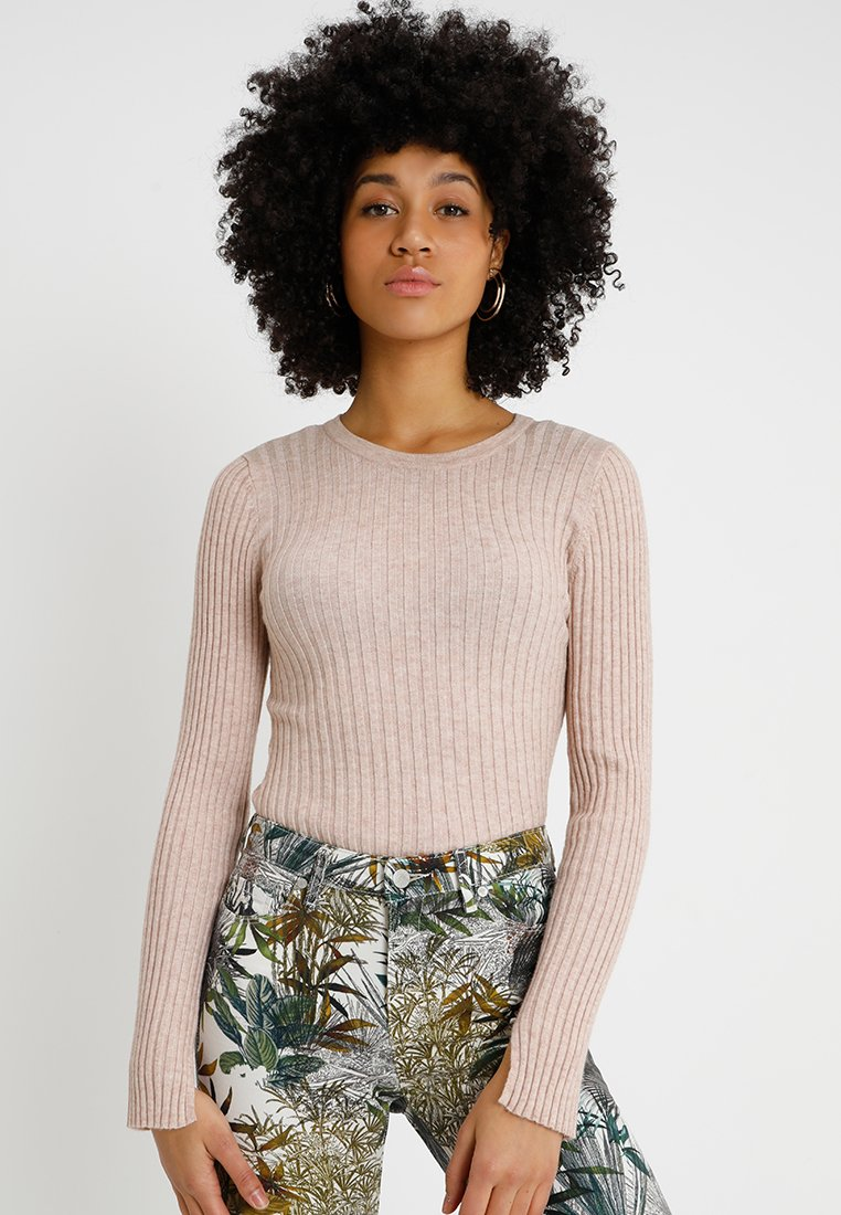 ONLY - ONLGWENNA - Strickpullover - mahogany rose