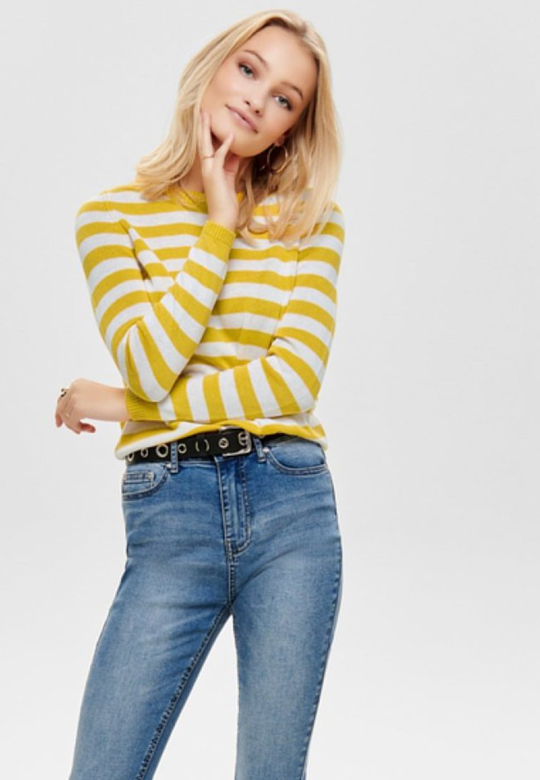 ONLY - Strickpullover - yellow