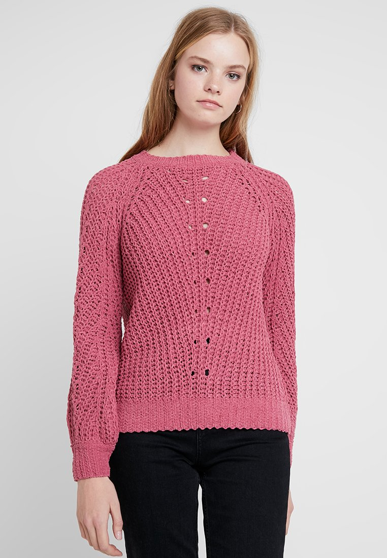 ONLY - ONLYASMIN - Strickpullover - rose wine