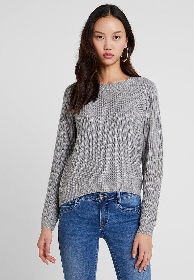 ONLY - ONLSHINY - Svetr - medium grey melange