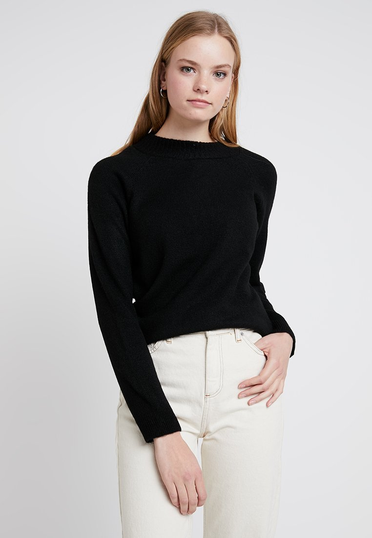 ONLY - ONLPIL CELIA HIGHNECK - Strickpullover - black