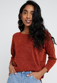 ONLY - ONLALBA SLEEVE - Jumper - picante - 0