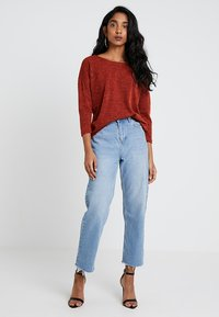 ONLY - ONLALBA SLEEVE - Jumper - picante - 1
