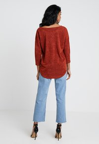 ONLY - ONLALBA SLEEVE - Jumper - picante - 2